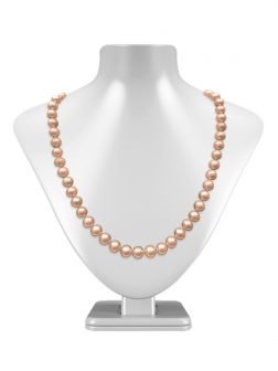 ARIA-THERESA REEF COLLECTION Peach 9-10mm Pearl Necklace