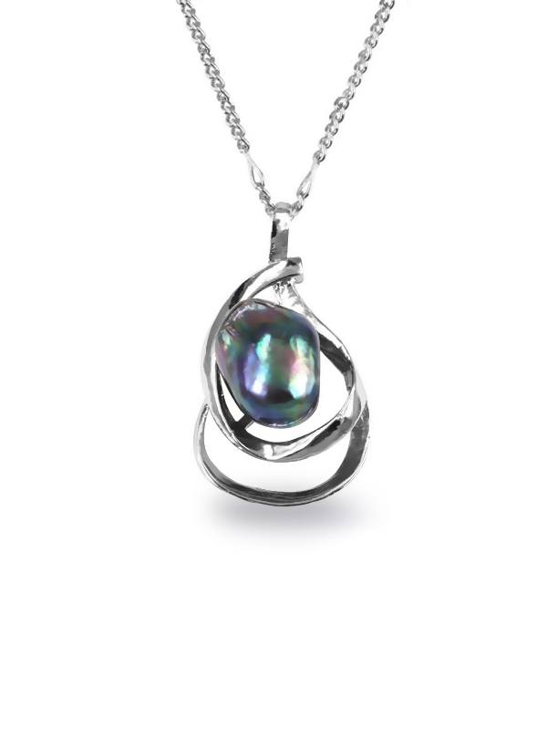 cage in to rainbow pearls fabulous products suitable pendant beautiful sterling charming up silver for wholesale pearl photo jewelry