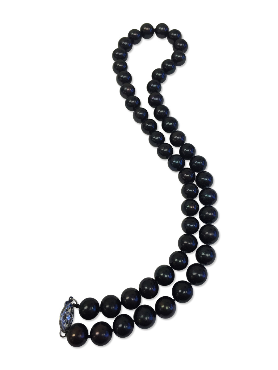 Maria Theresa Reef Collection Midnight Black 9 10mm Pearl