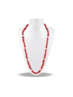 PACIFIC PEARLS TREASURE ISLAND COLLECTION Coral and Pearl 5-in-1 Lariat