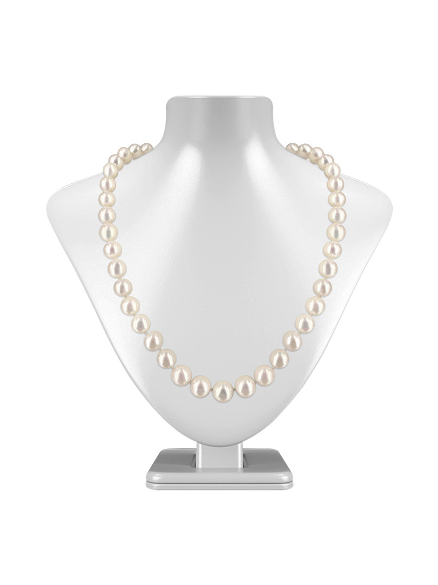 Maria Theresa Reef Collection White 9 10mm Pearl Necklace