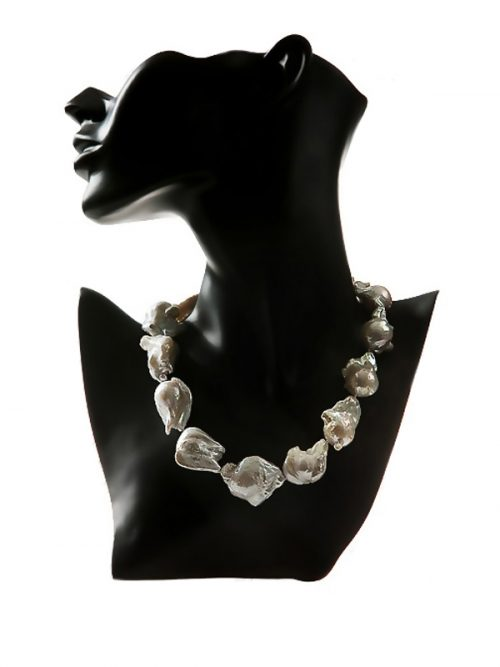 POLYNESIA COLLECTION WHITE 25-35MM NECKLACE