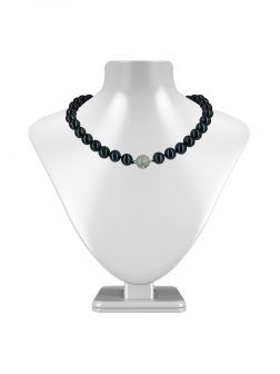 PACIFIC PEARLS VANUATU COLLECTION Tango After Dark 11mm-12mm Pearl Necklace