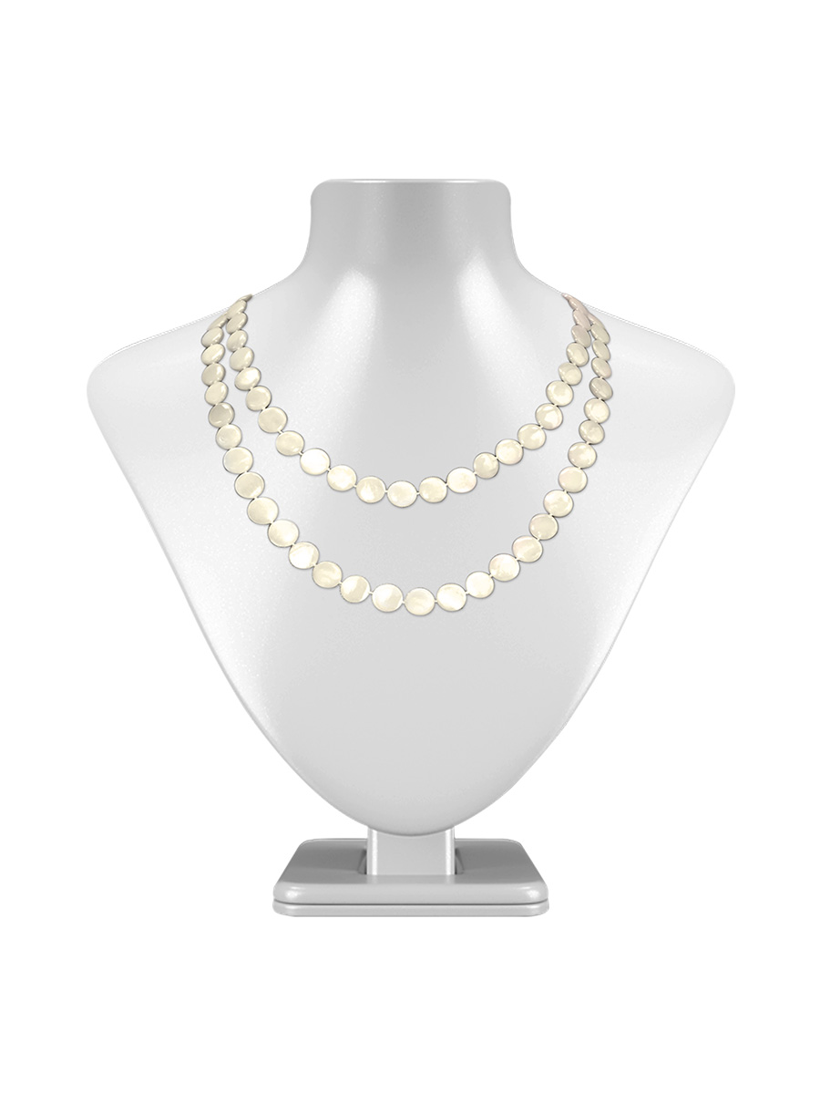 Oyster Bay Collection Ivory Double Strand Mother Of Pearl