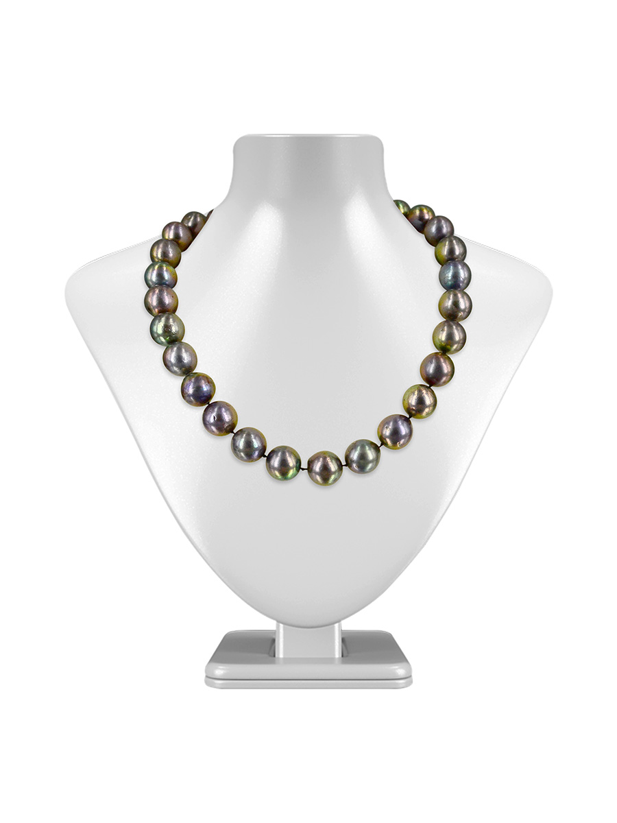 9ec52cac5ae7b VANUATU COLLECTION Peacock 12-13mm Edison Pearl Necklace