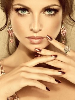 PACIFIC PEARLS BORA BORA COLLECTION Venetian Diamond Encrusted Frosted Pink Pearl Ring