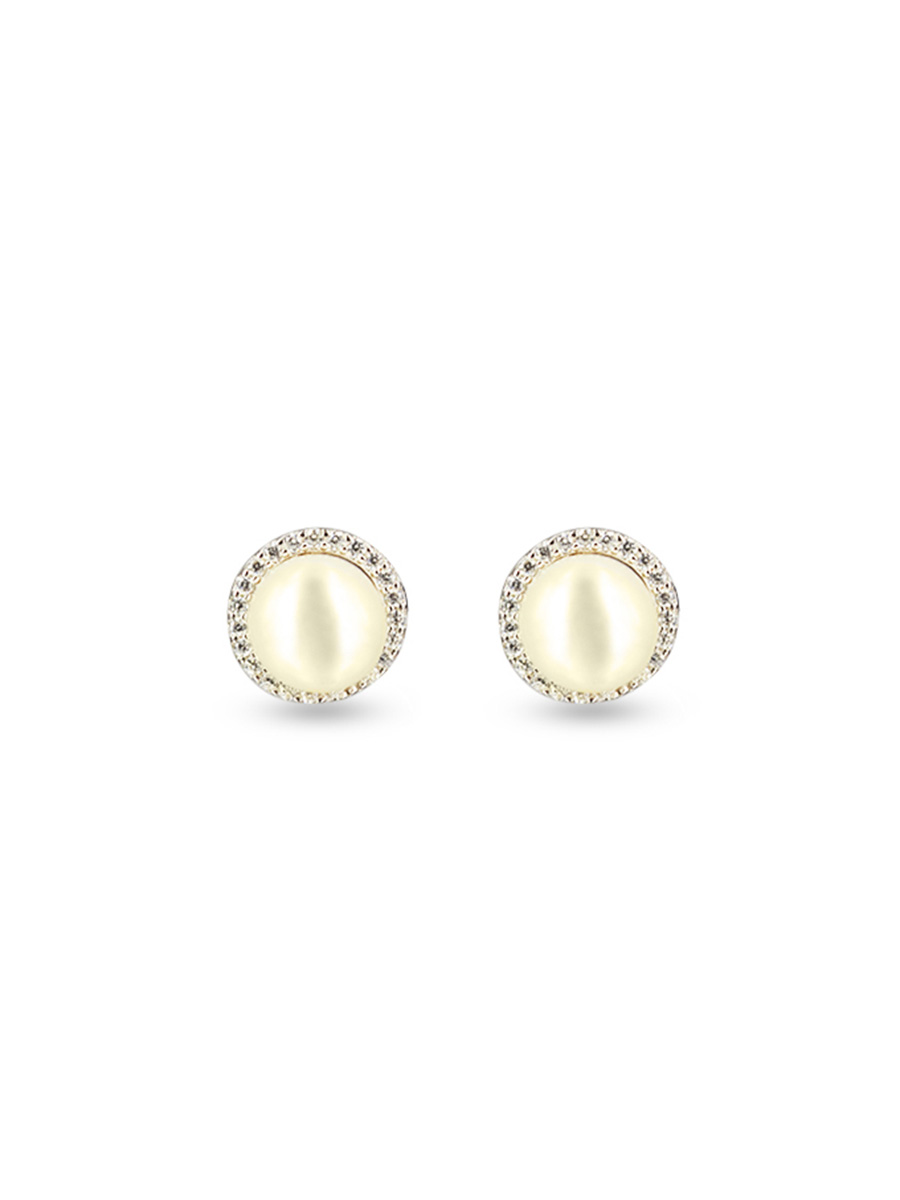 women natural products earrings stud for silver size pearl pearls real com sellife freshwater and black
