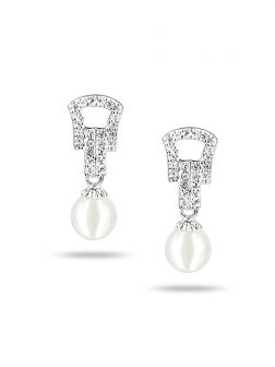 PACIFIC PEARLS AKOYA COLLECTION Medieval Akoya Pearl Earrings