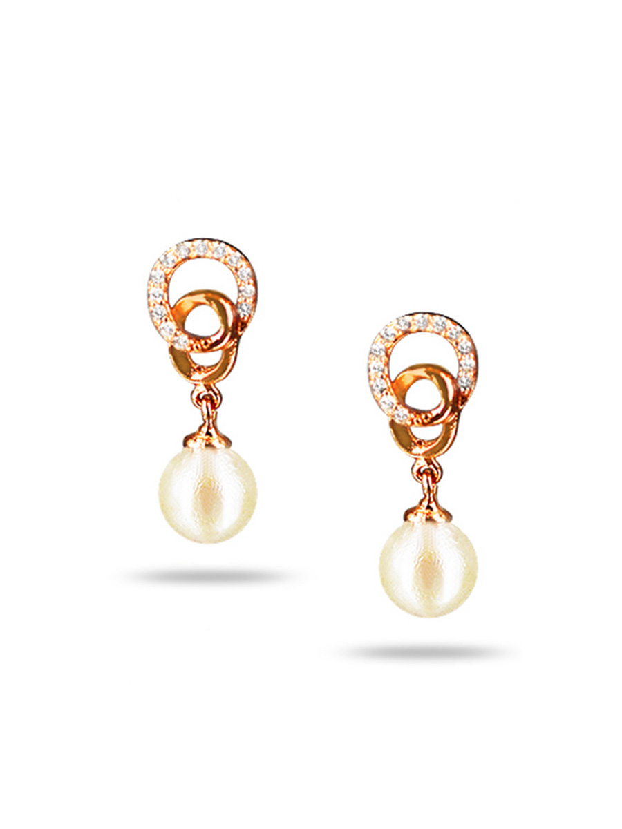 PACIFIC PEARLS AKOYA COLLECTION Northern Lights Akoya Pearl Earrings