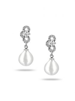 PACIFIC PEARLS SOUTH SEA COLLECTION Highland Fling South Sea Baroque Pearl Earrings
