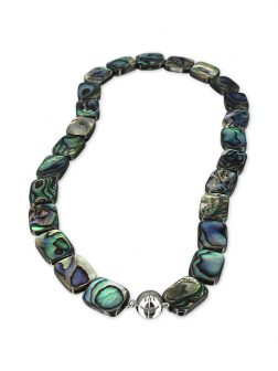 PACIFIC PEARLSGALÁPAGOS COLLECTION Aaria Pāua Statement Necklace