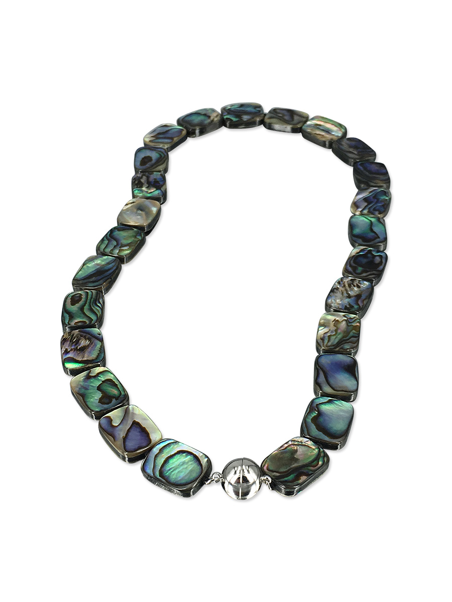 PACIFIC PEARLS NEW ZEALAND ABALONE COLLECTION Maia Abalone Statement Necklace