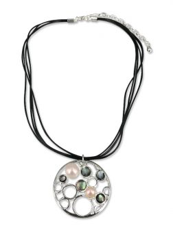 PACIFIC PEARLS WAIKIKI COLLECTION Rainforest Designer Pearl Pendant