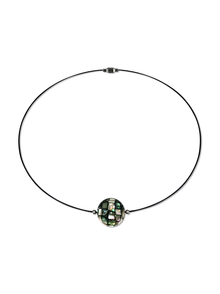 PACIFIC PEARLS NEW ZEALAND ABALONE COLLECTION 16mm Abalone Choker