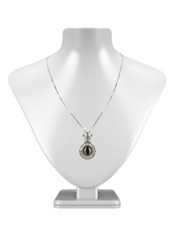 PACIFIC PEARLS TAHITIAN COLLECTION Queen of His Heart 9-10mm Tahitian Pearl Pendant