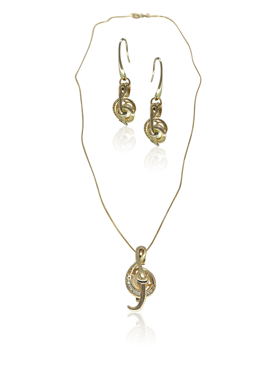 PACIFIC PEARLS BUA BAY COLLECTION Rhapsody 18K Yellow Gold Diamond Pavé Pearl Locket Pendant & Earrings