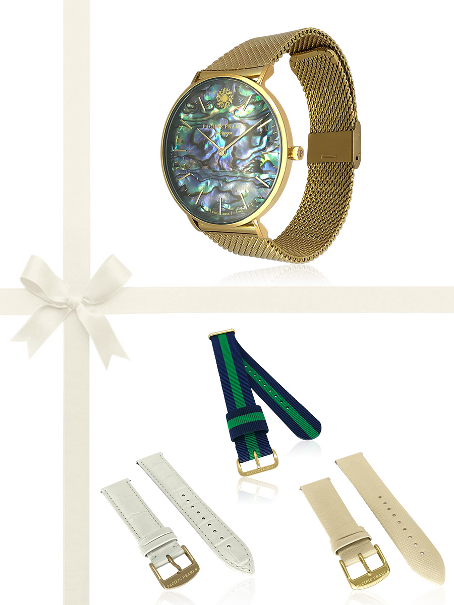PACIFIC PEARLS GALÁPAGOS COLLECTION Swiss Watch Gift Set