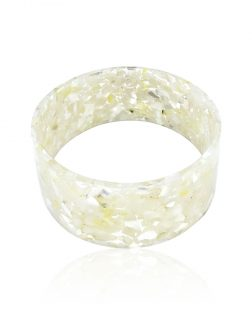 MERMAID BEACH COLLECTION Mother-of-Pearl Large Slip-On Bangle