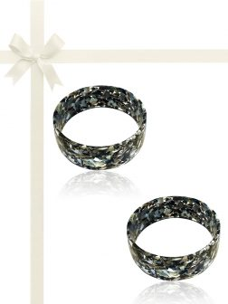 TAHITIAN COLLECTION Mother-of-Pearl Gift Set of Two Stackable Bangles