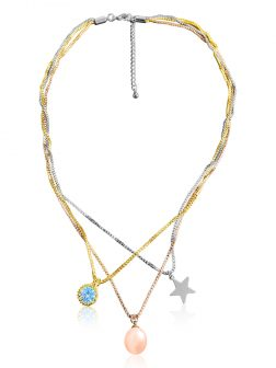 SULU SEA COLLECTION I Am Woman 18K Gold Pearl Choker Necklace