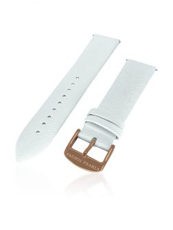 SOUTH SEA COLLECTION Ortelius Interchangeable Saffiano Leather Strap