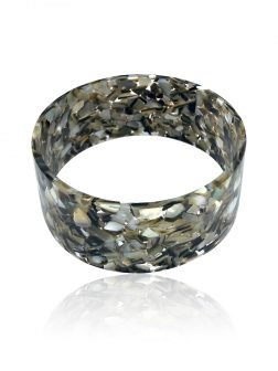 TAHITIAN COLLECTION Mother-of-Pearl Large Slip-On Bangle