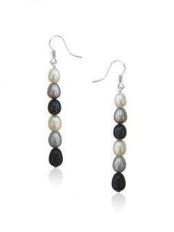 SOCIETY ISLANDS COLLECTION Dusk Waterfall Statement Earrings