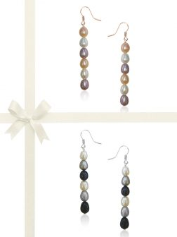 SOCIETY ISLANDS COLLECTION Waterfall Statement Earring Gift Set