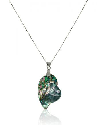 OYSTER BAY COLLECTION Tropical Romance South Sea Mother-of-Pearl & Pāua Abalone